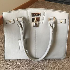 BCBG Paris Locket Gray Tote